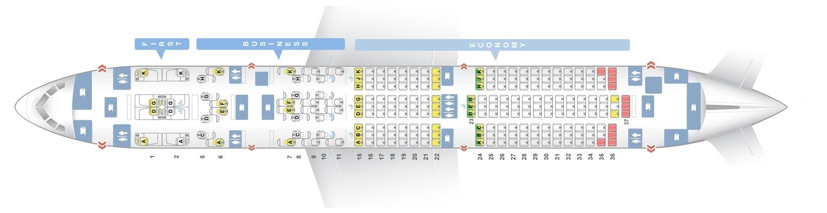 Seat Map Boeing 787 9 Dreamliner Etihad Airways Best Seats In The Plane