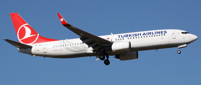 Boeing 737-800 Turkish Airlines. Photos and description of the plane