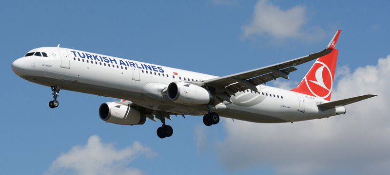 Turkish Airlines Airbu A321-200