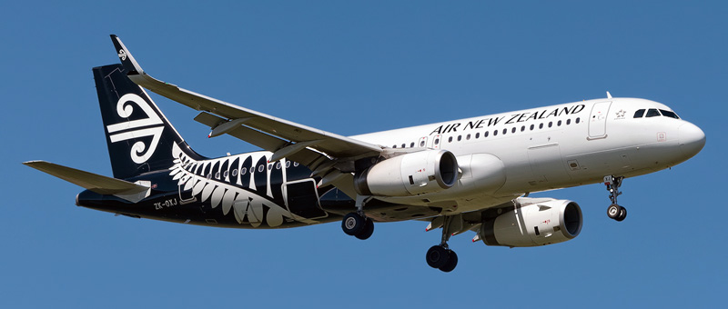 Airbus A320-200 Air New Zealand