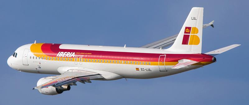 Airbus A320-200 Iberia. Photos and description of the plane