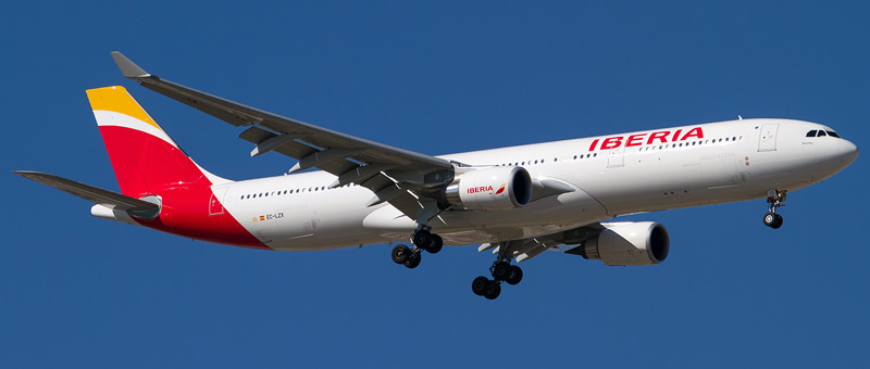 Airbus A330-300 Iberia. Photos and description of the plane