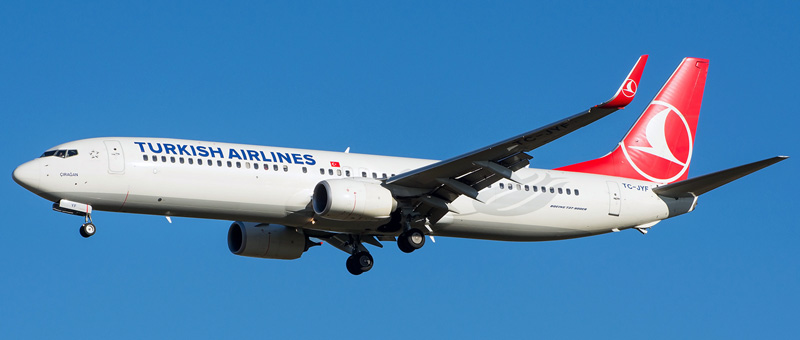Boeing 737-900 Turkish Airlines. Photos and description of the plane
