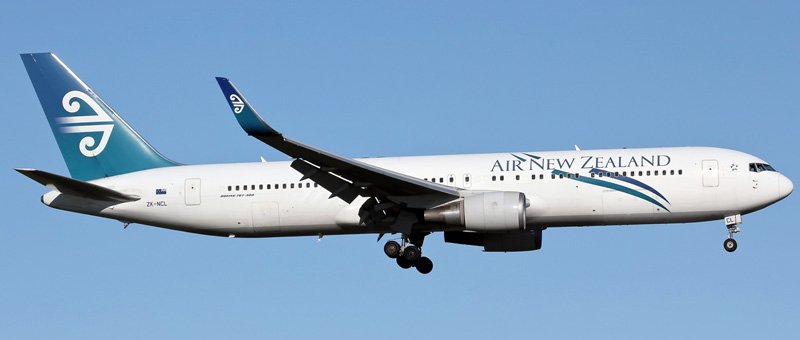 Boeing 767-300 Air New Zealand. Photos and description of the plane