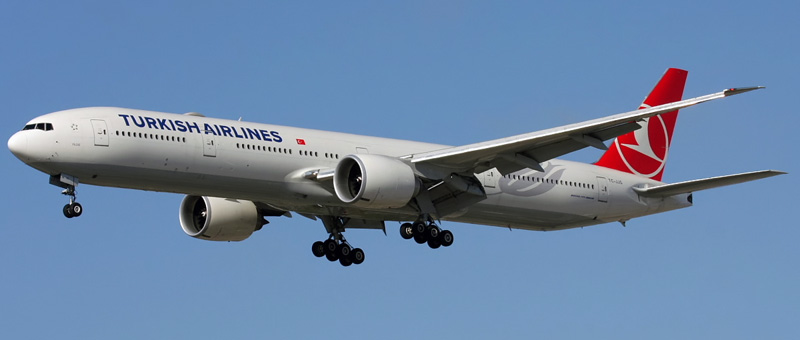 Boeing 777-300 Turkish Airlines. Photos and description of the plane