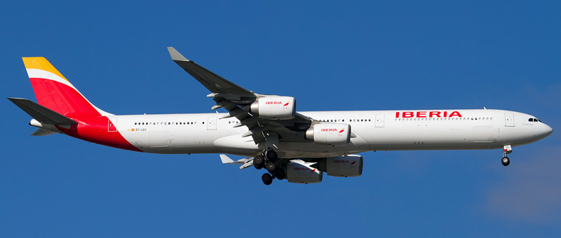 Airbus A340-600 Iberia. Photos and description of the plane
