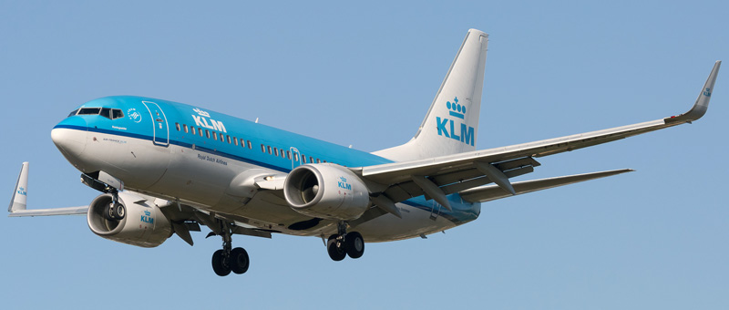 Boeing 737-700 KLM. Photos and description of the plane