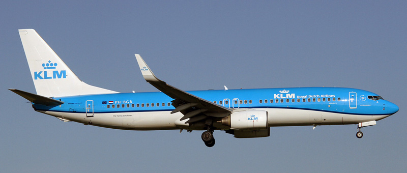Boeing 737-800 KLM. Photos and description of the plane