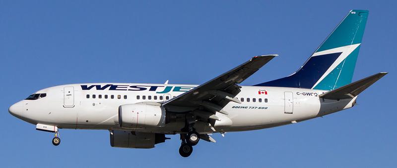 Seat map Boeing 737-600 WestJet. Best seats in the plane