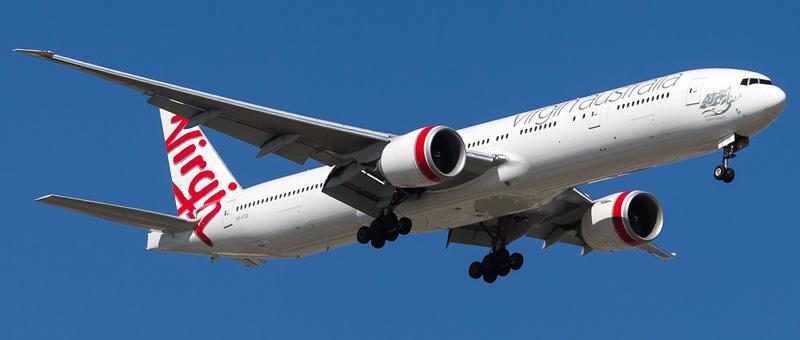 Seat map Boeing 777-300 Virgin Australia. Best seats in the plane
