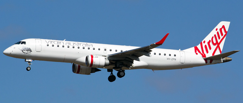 Seat map Embraer ERJ-190 Virgin Australia. Best seats in the plane