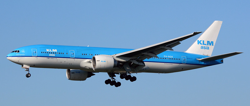 Boeing 777-200 KLM. Photos and description of the plane