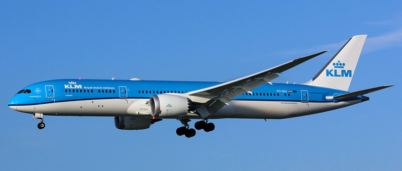 Boeing 787-9 Dreamliner KLM. Photos and description of the plane