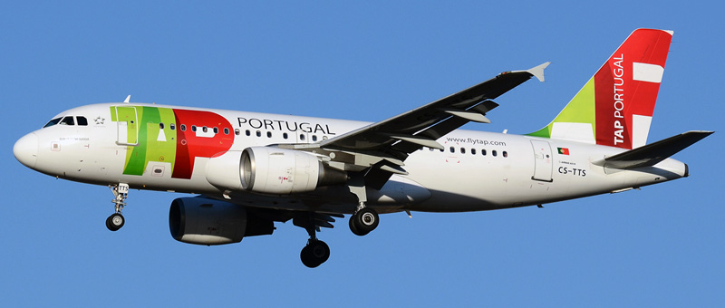 Airbus A319-100 TAP Portugal. Photos and description of the plane