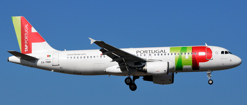 Airbus A320-200 TAP Portugal. Photos and description of the plane