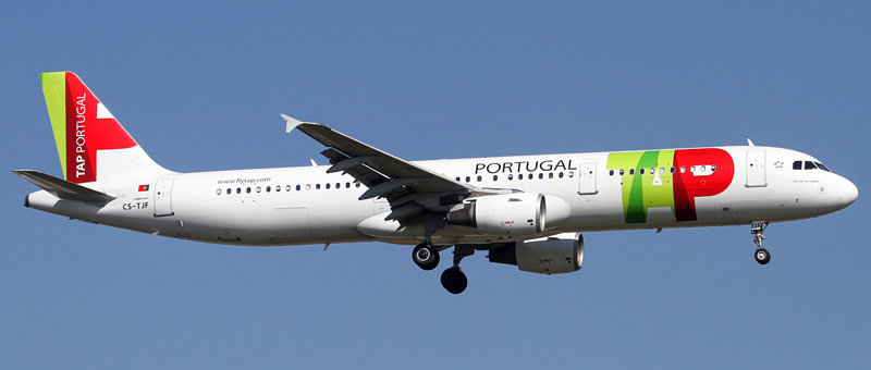 Airbus A321-200 TAP Portugal. Photos and description of the plane