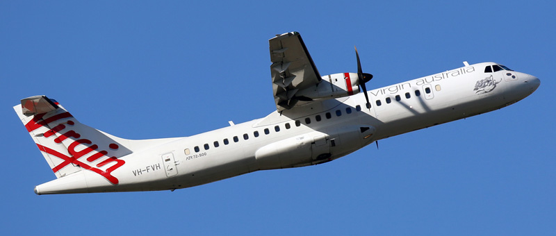 ATR 72-500 Virgin Australia. Photos and description of the plane