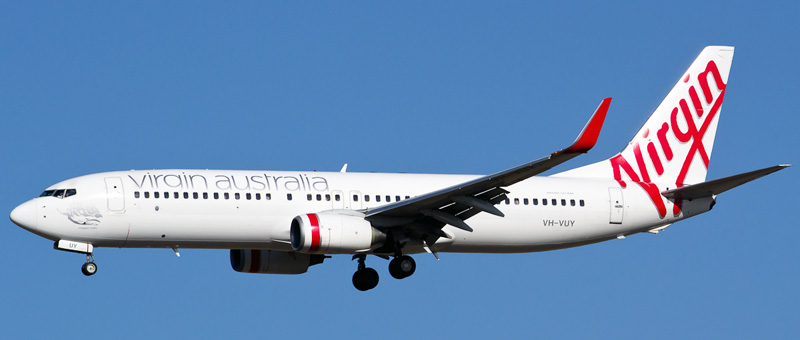 Boeing 737-800 Virgin Australia. Photos and description of the plane