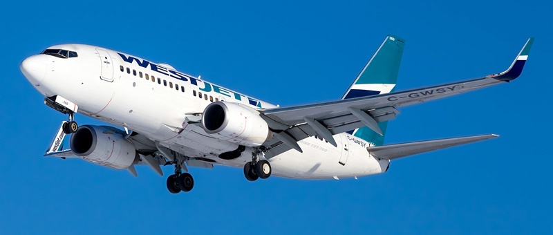 Boeing 737-700 WestJet. Photos and description of the plane