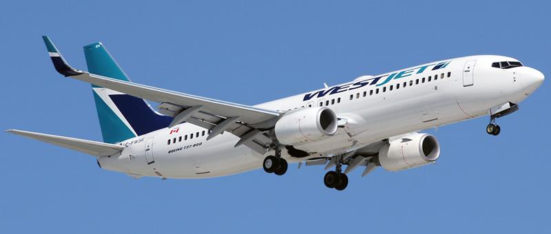 Seat map Boeing 737-800 WestJet. Best seats in the plane