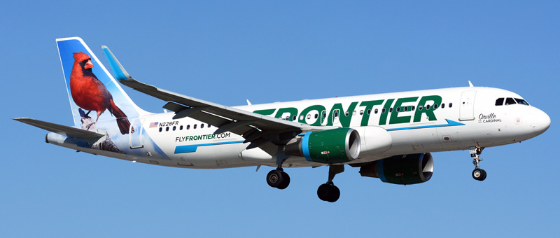 Airbus A320-200 Frontier Airlines. Photos and description of the plane