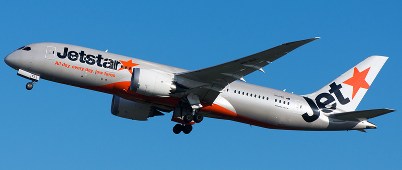 Boeing 787-8 Dreamliner Jetstar. Photos and description of the plane