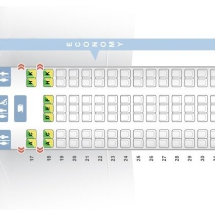 Seat Map Boeing 777 200 American Airlines Best Seats In