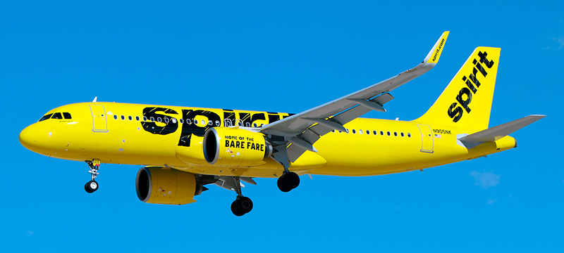 Airbus A320Neo Spirit Airlines. Photos and description of the plane