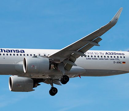 Airbus A320-200Neo Lufthansa. Photos and description of the plane