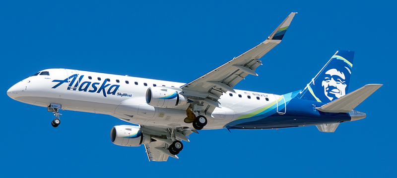 Embraer ERJ-175 Alaska Airlines. Photos and description of the plane
