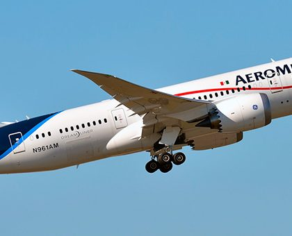 Boeing 787-8 Dreamliner Aeromexico. Photos and description of the plane
