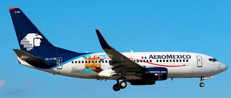 Boeing 737-700 Aeromexico. Photos and description of the plane