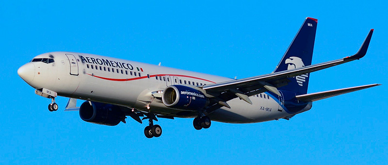 Boeing 737-800 Aeromexico. Photos and description of the plane