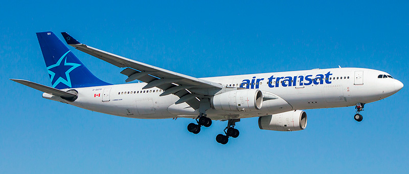 Airbus A330-200 Air Transat. Photos and description of the plane