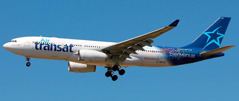 Air Transat Airbus A330-243