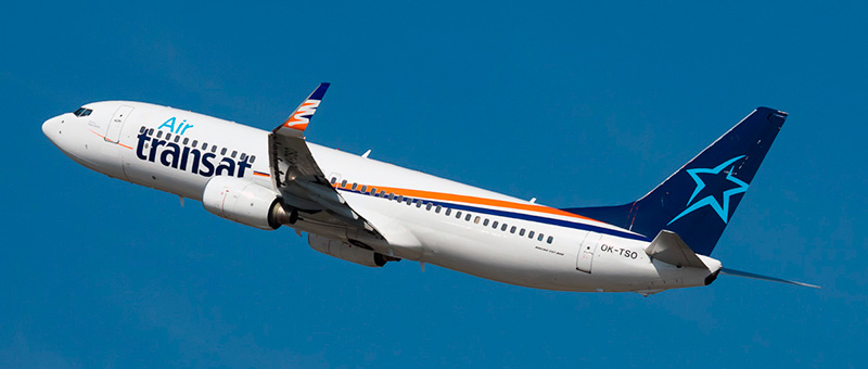 Boeing 737-800 Air Transat. Photos and description of the plane