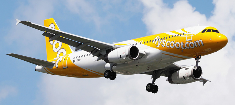 Airbus A320-200 Scoot Airlines. Photos and description of the plane