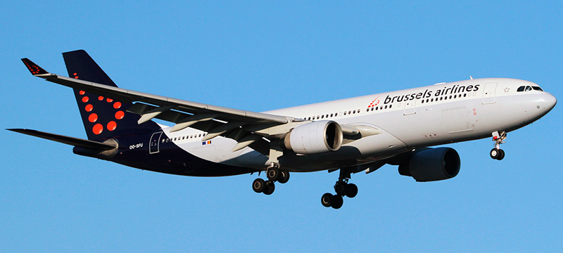 Airbus A330-200 Brussels Airlines. Photos and description of the plane