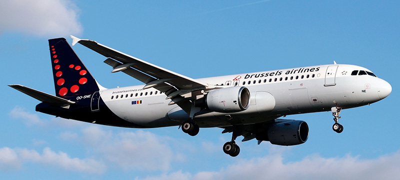 Airbus A320-200 Brussels Airlines. Photos and description of the plane