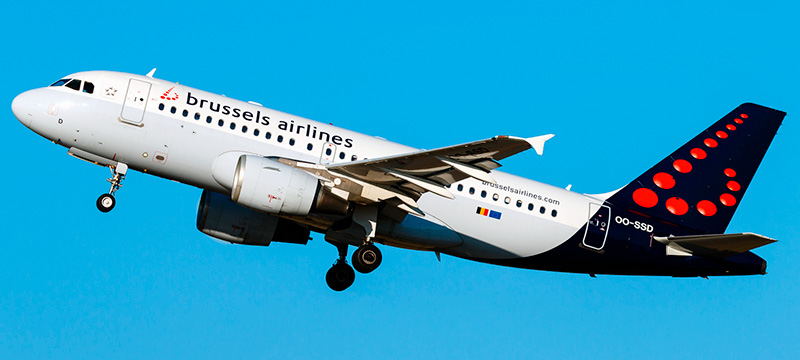 Airbus A319-100 Brussels Airlines. Photos and description of the plane