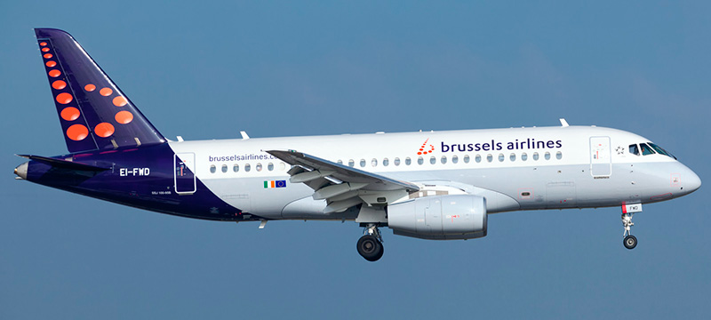 Brussels Airlines Sukhoi Superjet 100