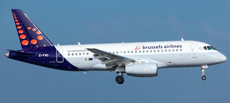 Brussels Airlines Sukhoi Superjet 100