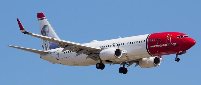 Boeing 737-800 Norwegian