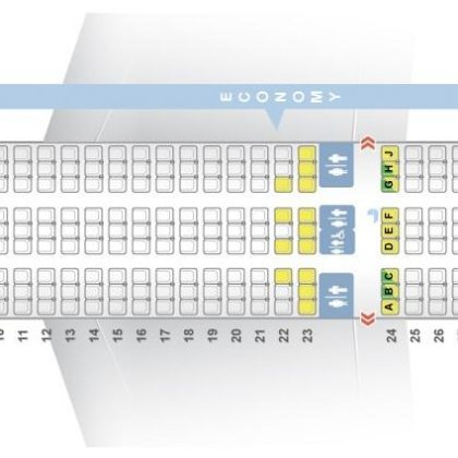 "Seat map Boeing 787-8 ""Norwegian Air Shuttle"". Best seats in the plane"