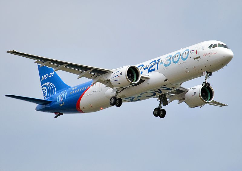 Second airplane MC-21 has made first flight