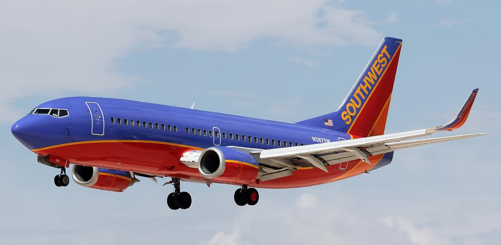 Passenger airplane of Southwest Airlines has made emergency landing in USA
