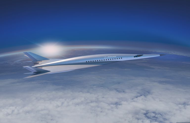 Boeing Company has presented concept of hypersonic passenger airplane