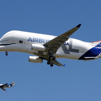 Airbus Company has shown flight of the new cargo airplane Beluga XL
