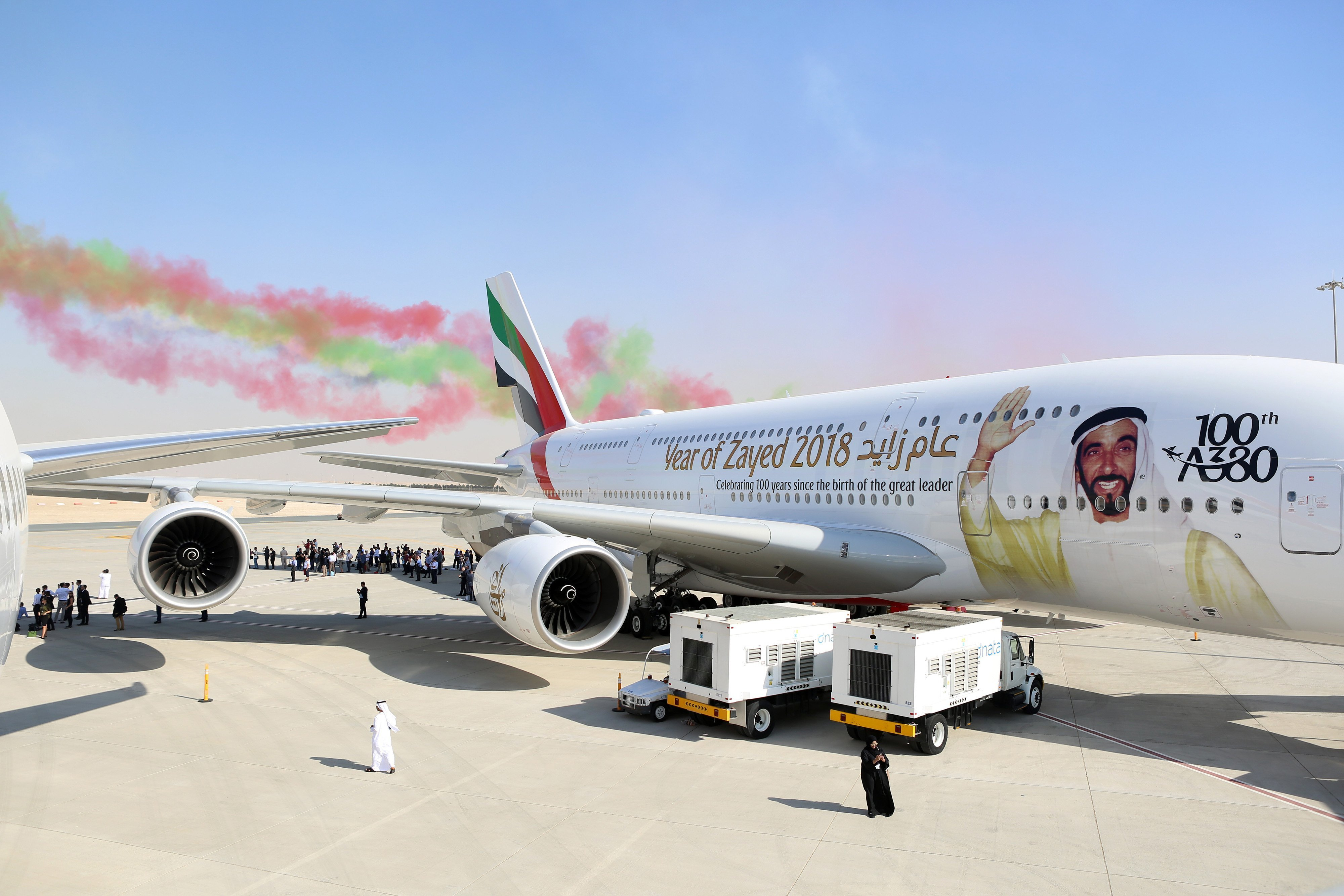 After 10 years of flights Emirates A380 continues to boggle imagination of the travelers. Part 4