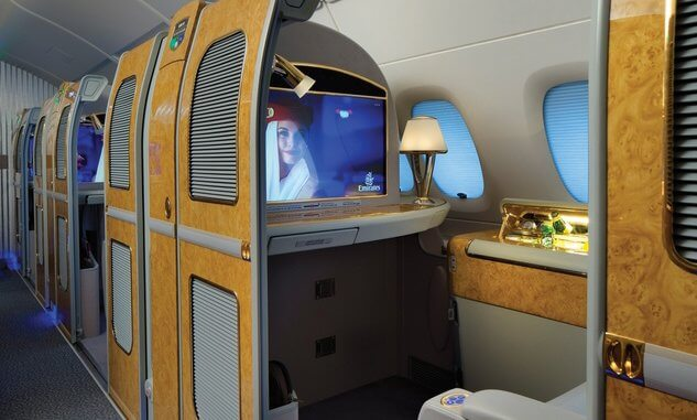 After 10 years of flights Emirates A380 continues to boggle imagination of the travelers. Part 2